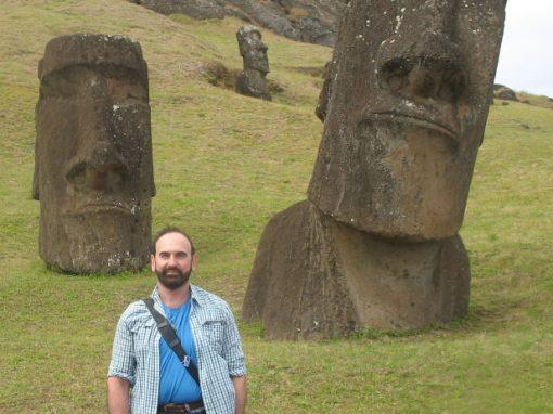 Stewart on Easter Island